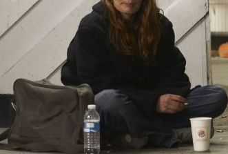 homeless woman 3